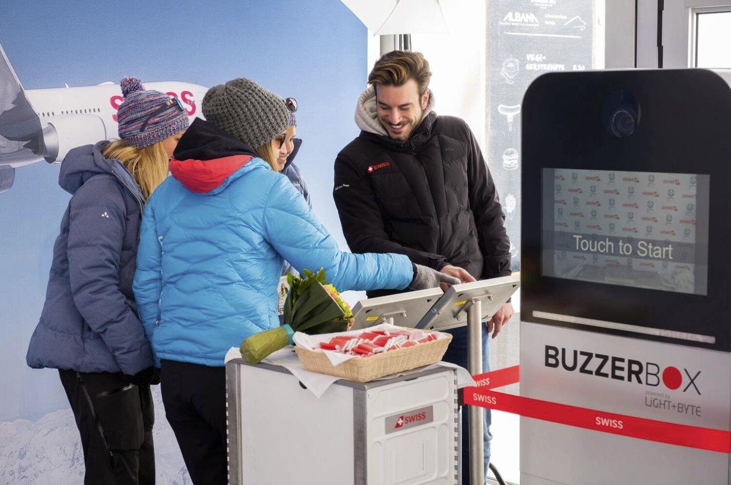 Swiss Int. Airlines, Ski Wm St.Moritz